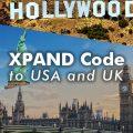 XPAND Code to USA and UK!