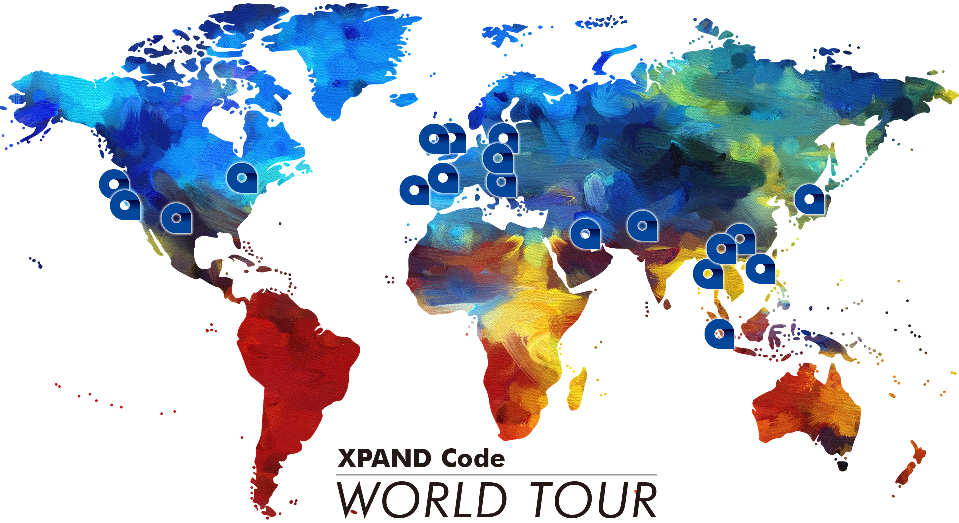 XPAND Code World Tour